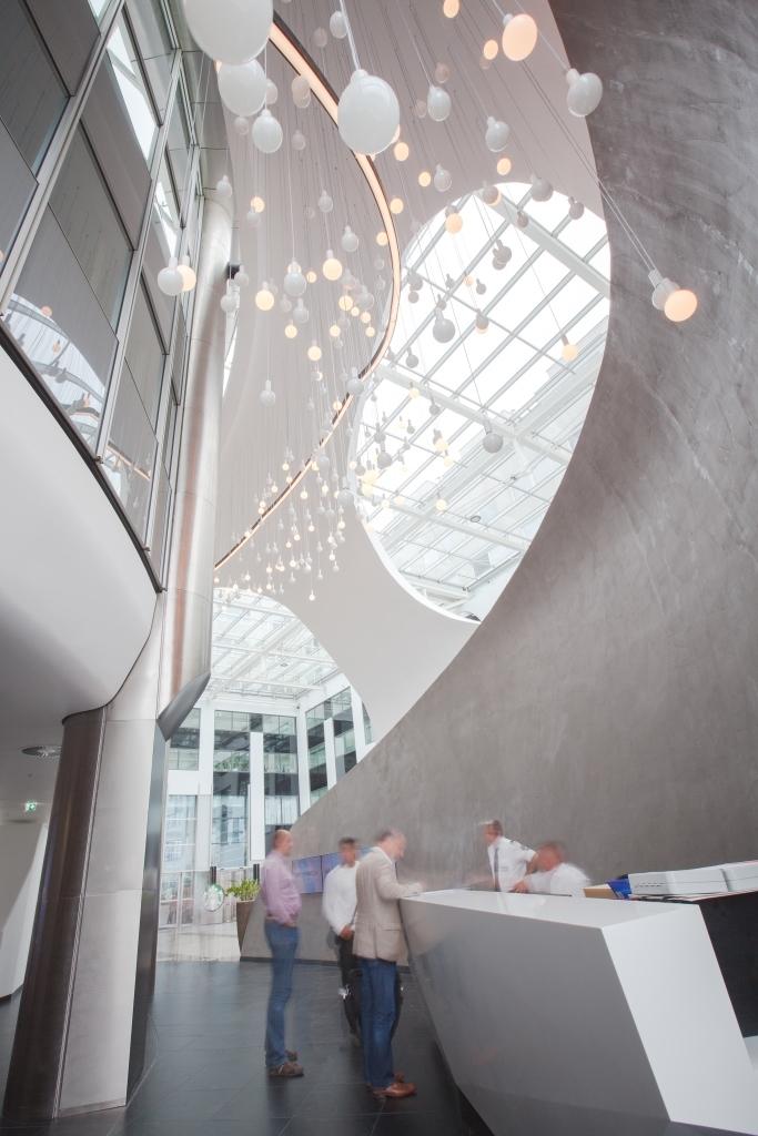 Milleniumtower Eingangs- und Foyerbereich fertig