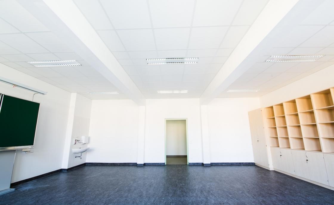 Zubau VS Vorgartenstraße Klassenraum
