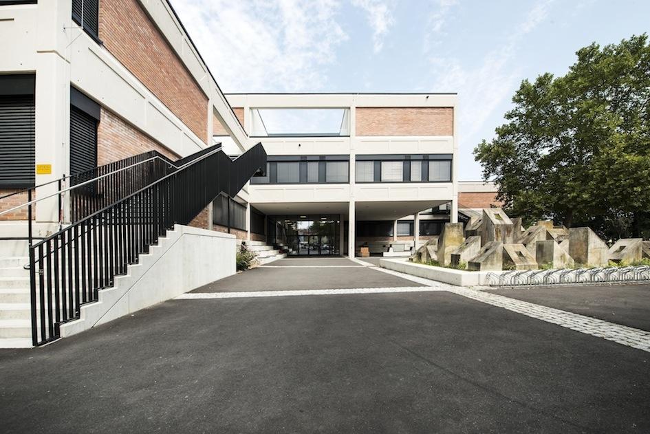 Bundesschulzentrum Stiegenaufgang