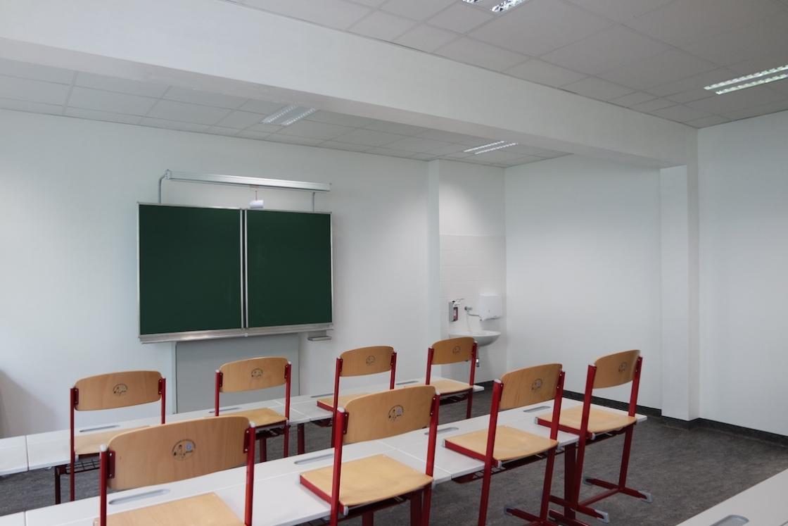 Zubau NMS Afritschgasse Klassenzimmer