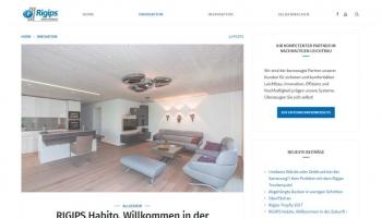 Zimmerausschnitt mit Sitzgelegenheit und Wänden