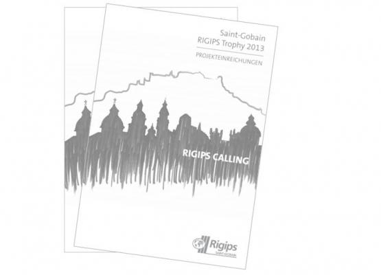 Cover Trophybook aus dem Jahr 2013 mit Bäumen und Landschaft