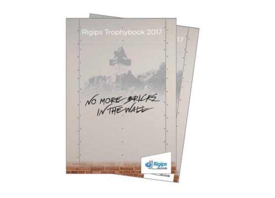 Titelbild des Trophybooks aus 2017