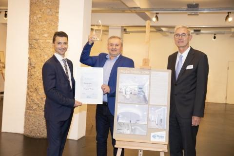 1. Platz Trockenausbau und Publikumssieger: Ruckenstuhl GmbH - Schmuckgeschäft Feichtinger