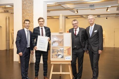 """3. Platz Trockenausbau: FL Bau GmbH - """"Erweiterung Betriebsgelände der Firma Sonnen Moor"""""""