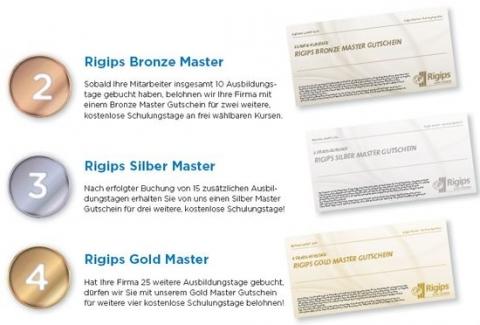 Rigips Master Bonusprogramm